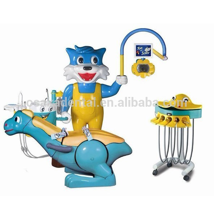 FDA CE Aprroved Best sales kids dental unit dental chairs with dentist stool
