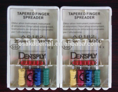 Original Dental Dentsply Tapered finger spreader files with CE/root canal files/endo files