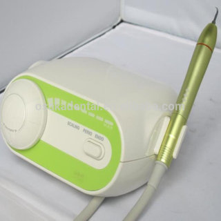 A Dental Fiber Optic Ultrasonic Scaler with Seadled or Detachable Handpiece