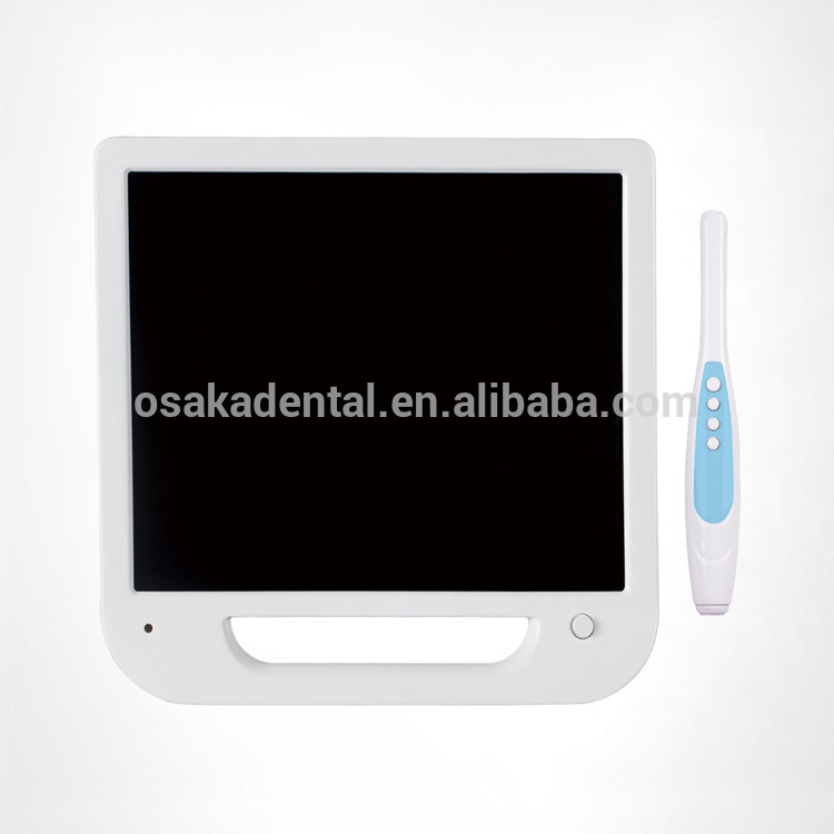 A 17 inch white monitor Dental Intraoral Camera with VGA&VIDEO&USB including monitor holder