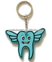 angle tooth key chain/dental decoration/dental gifts/dental cultural products