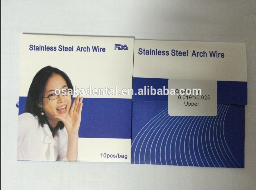 Orthodontic Stainless Steel Arch Wire (round) with CE FDA ISO