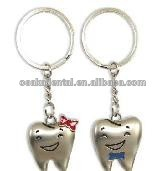 Hot sale Lovers key chain /without teeth /dental accessories/dental cultural products/oral dental accessories