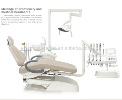 2018 Best Quality Intelligent Dental Chair / Dental Unit with Rotating Box