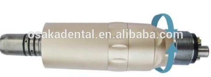 Dental internal Titanium low speed handpiece with fiber optic
