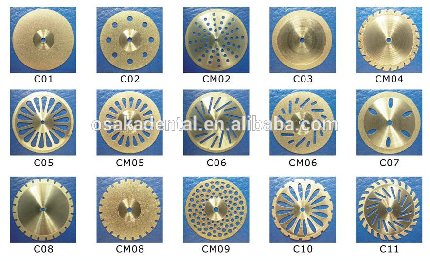 Dental Diamond Discs / dental lab material / dental discs