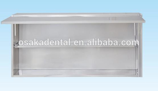 Stainless Steel Dental Cabinet medical wall cabinet without glass window
