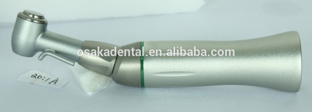 Dental Implant low speed handpiece 20:1 Contra Angle with tube