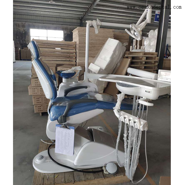 Economic Dental Chair Unit with Halogen Lamp OSA-4C