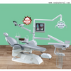 Dental Chair Unit with Microscope And 8 Led Lamp