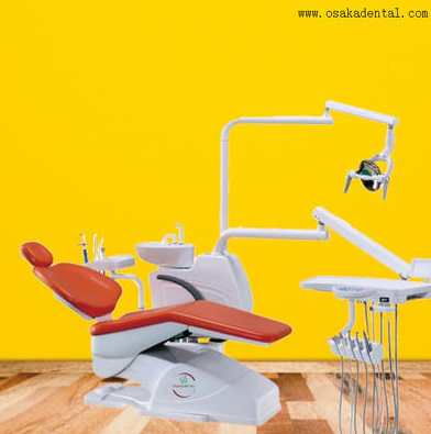 What are the parts of a dental chair ?