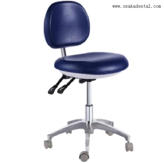 Comfortable dental stool PU leather