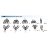 Dental Impression Trays Stainless Steel Instrument