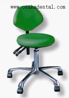 PU or leather with metal foot Dental Stool for dental unit