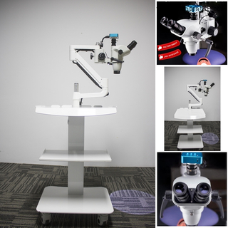 Mobile Dental Endodontic Microscope with Camera