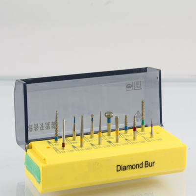 A Dental Diamond Bur Kit with Different Size