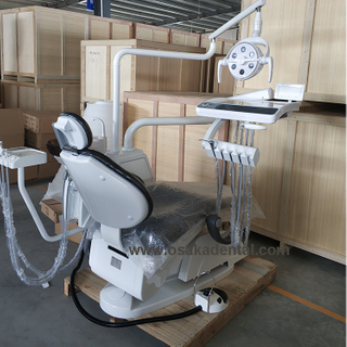 Dental chair with LED lamp, strong quality