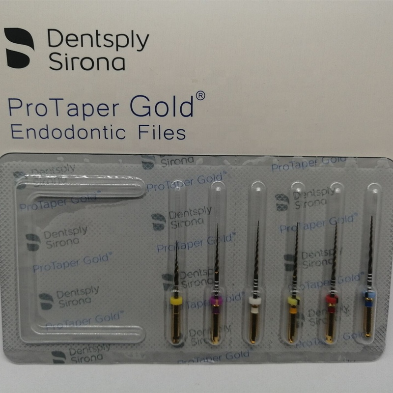 2019 New Packing Dental Endodontic Heat Activation Protaper Gold Niti File