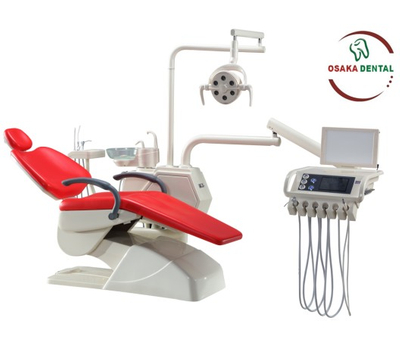 OSA-A3 Luxury New Dental Unit Dental Chair with 9 Memories and Panorama X-film Viewer