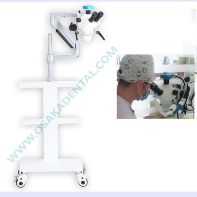 A New Product Portable Dental Microscope with Camera and Mobile Trolley